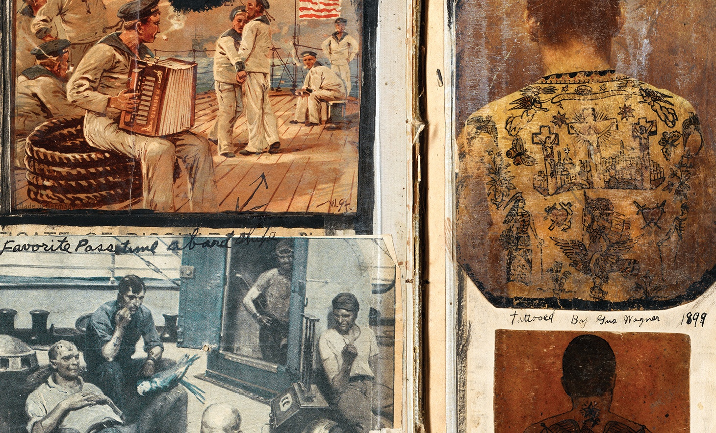 The Original Gus Wagner: The Maritime Roots of Modern Tattoo